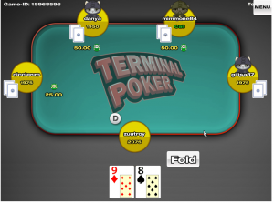terminal poker android screenshot