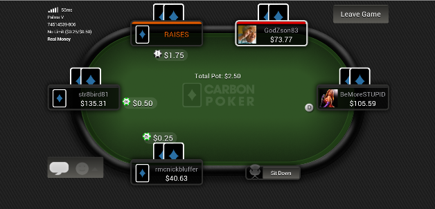Carbon poker safe for us players