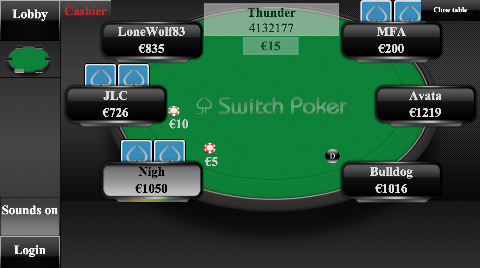 switch poker