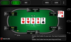 pokerstars android tournaments