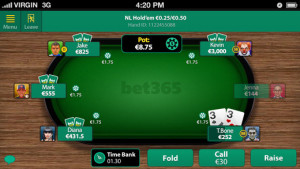 bet365 table